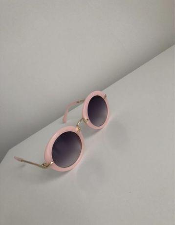 Детские розовые очки