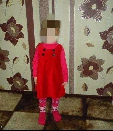 Сарафан на девочку 2-3 года