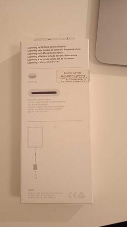 Przejściówka lightning na kartę SD