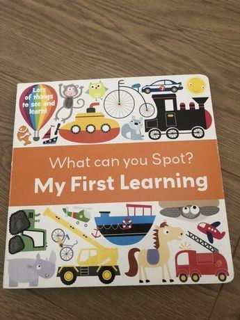 My first Learning, książeczka dla malucha j. angielski