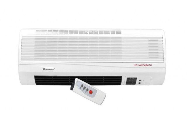 Тепловентилятор мощный настенный 2000Вт Domotec MS-5961