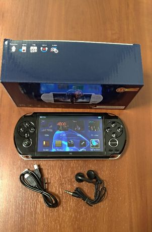 Ігрова ігрова портативна приставка консоль PSP X9 великий екран