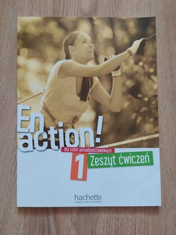 En action 1 zeszyt ćwiczeń dla szkół ponadpodstawowych