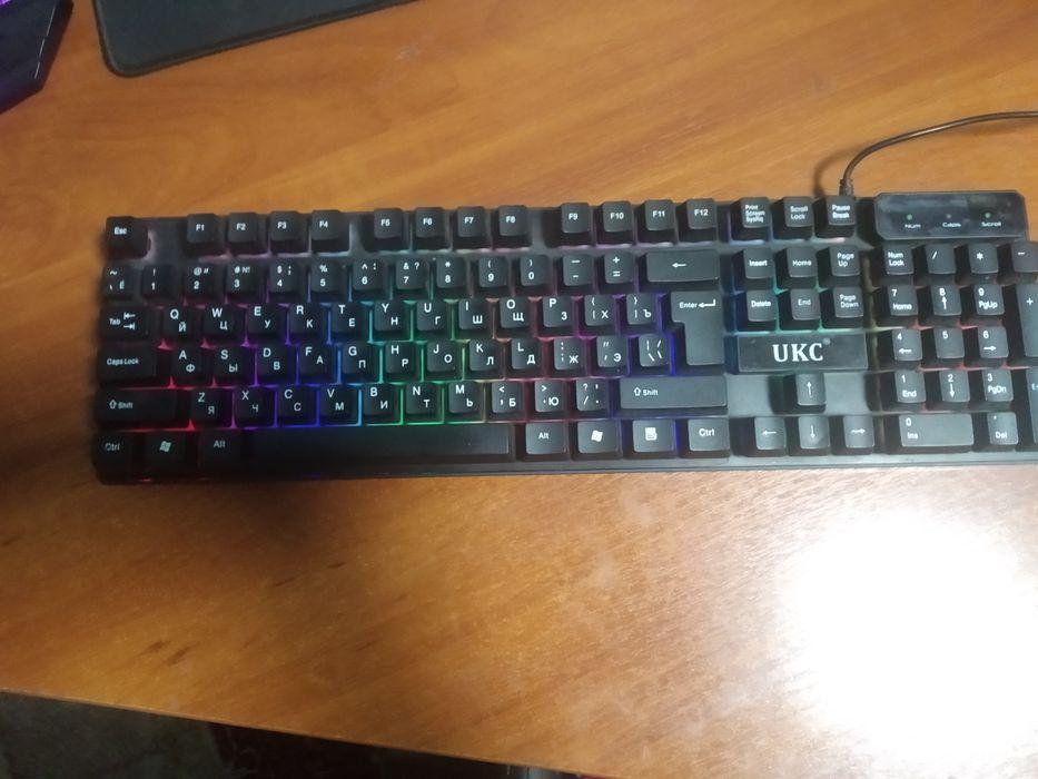 Клавиатура UKC с подсветкой Луганск - изображение 1