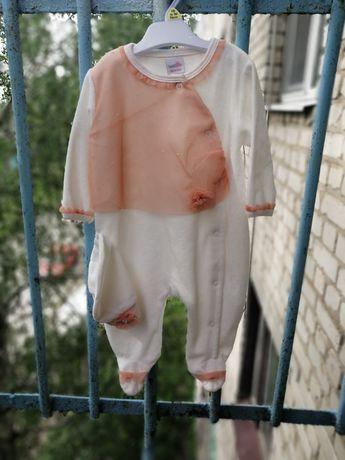 Детский турецкий нарядный человечек боди