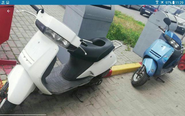 Двухместные японский скутер дисковые тормоза алюминиевые литые колёса