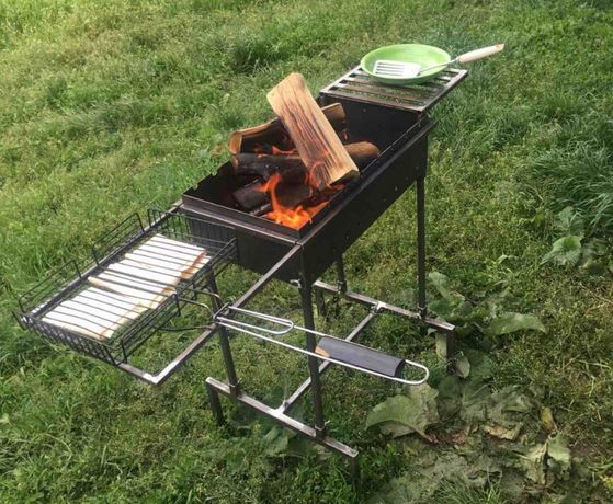 Разборной мангал для пикника.