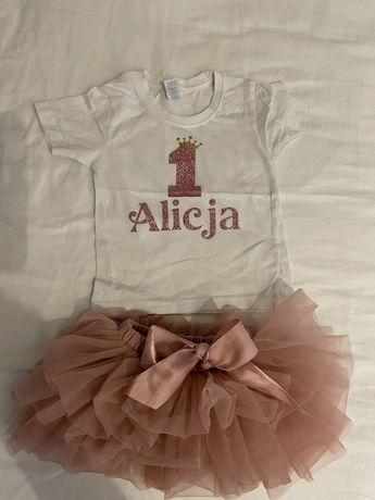 Komplet 1 urodziny Alicja