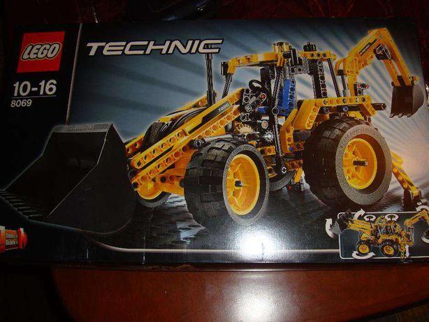 Nowe klocki Lego Technic-Koparko-ładowarka