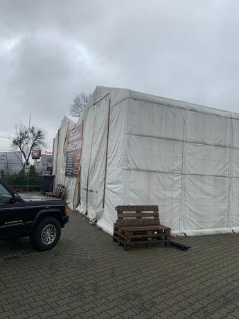 Hala namiotowa 100 m2, 4 bramy
