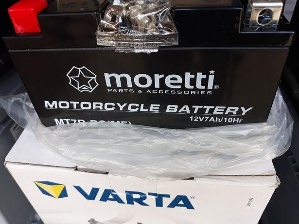 Akumulator moretti MT7B-BS 12V 7Ah L+ Motor