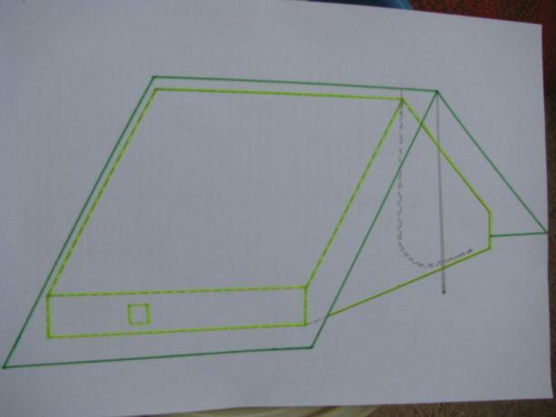 Палатка двойная 3-4-х местная