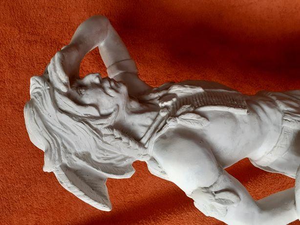 UNIKAT ! Figura INDIANIN . wys. 64 cm!