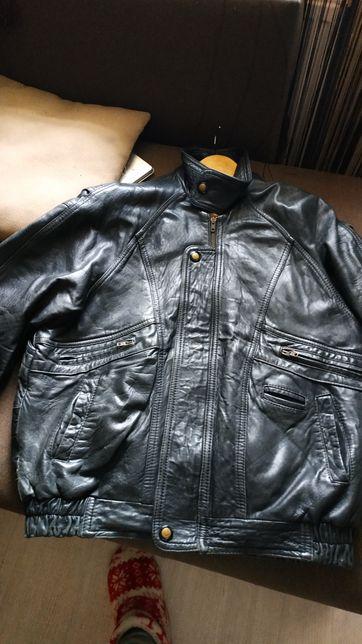 Куртка кожаная, размер М/L