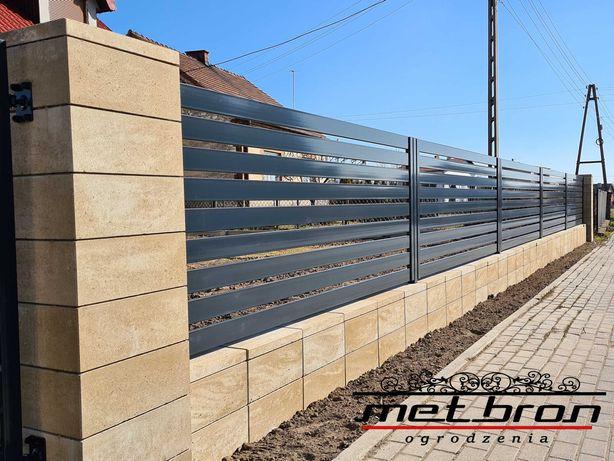 Ogrodzenia metalowe, murowanie, automatyka, kompleksowo
