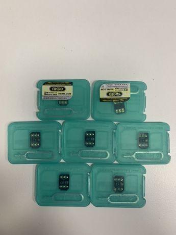 Продам рсим R-sim gevey чип 14 aio новая с iccd кодом с гарантией