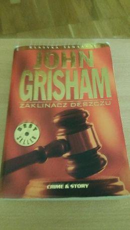"""Książka John Grisham - """"Zaklinacz deszczu"""""""