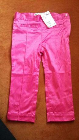 Sprzedam nowe spodnie dla dziewczynki H&M rozm.98