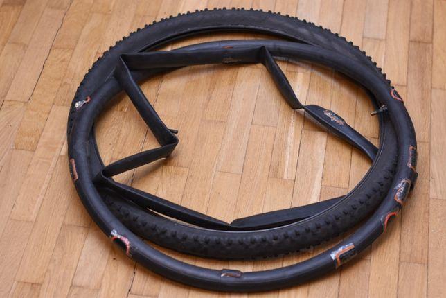 Покрышка на велосипед Schwalbe Smart Sam 26x2.10, камера на велосипед