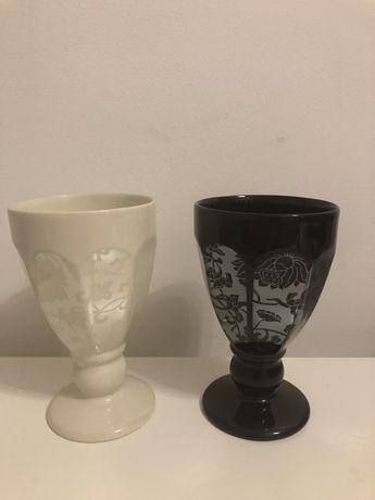 Ceramika Two People Kielich koronka nowe 4 sztuki