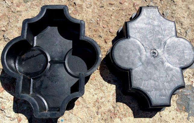 Форма для тротуарной плитки полиэтиленовая