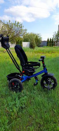 Велосипед 3-х колёсный синий Best Trike. Музыка, свет.