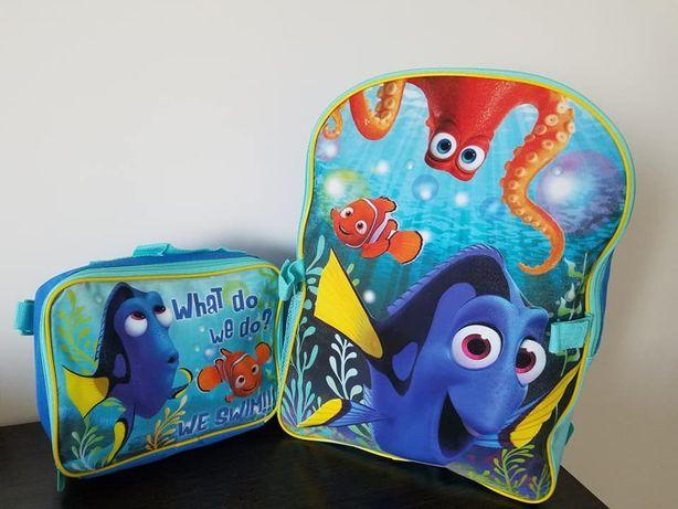 Крутий рюкзак + ланч бокс сумка Disney Dory Дори з Америки