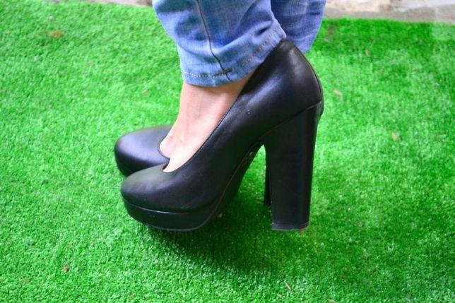 Туфли женские кожаные, кожаная обувь