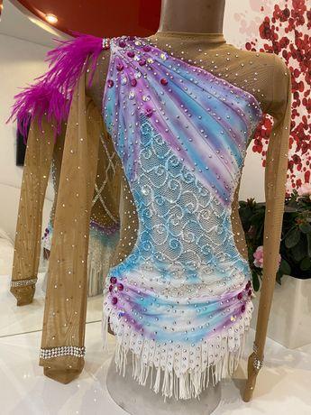 Купальник для художественной гимнастики, 130-140 см
