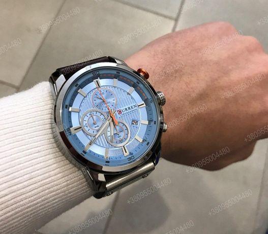 Мужские часы Curren 8291 Оригинал (1 год гарантия) 3 цвета