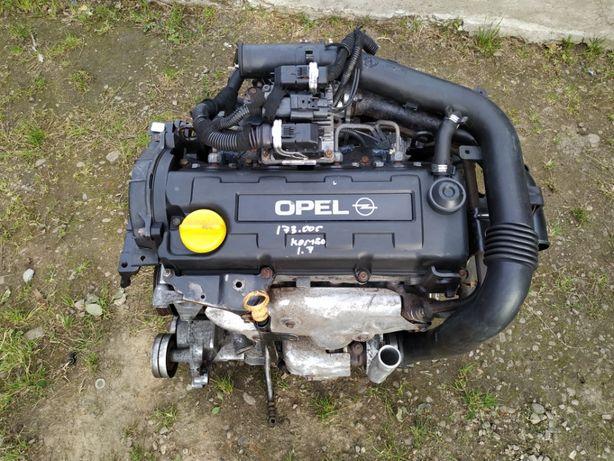 Двигатель в сборе 1.7 DTI Combo C Corsa, Astra / Мотор 1.7 Комбо Астра