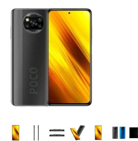 Smartfon Xiaomi POCO X3 6 GB / 64 GB szary NOWKA 2 lata gwarancji
