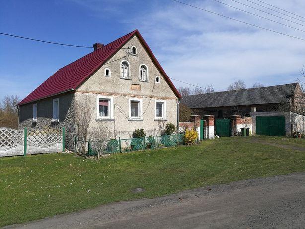 Słoneczny dom na dużej działce z garażem, gospodarstwo