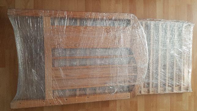 Łóżeczko dziecięce drewniane, materac Racibórz