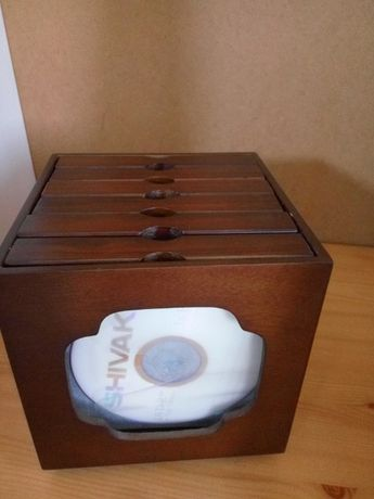 Pudełko kasetka na płyty CD DVD. Upominek prezent