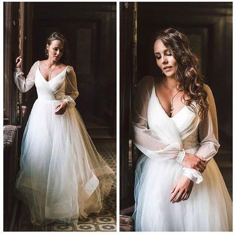 Нежное, воздушное свадебное платье