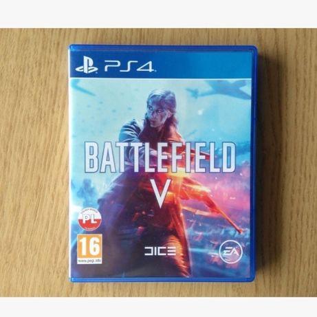 Battlefield V Battlefield 5 pl polska wersja ps4