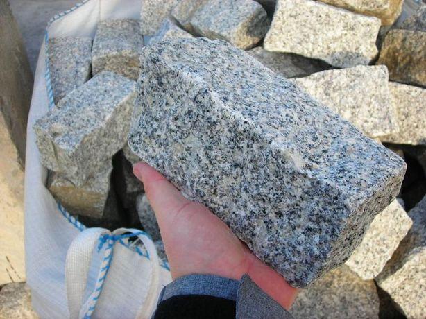 granit 10x10x20 palisada granitowa kostka brukowa ziemia obrzeże kora