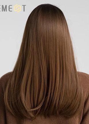 Накладка для волос , коричневая
