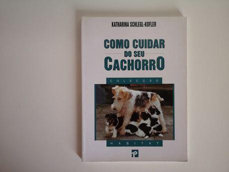 """Livro informativo de """"Como cuidar o seu cachorro"""""""