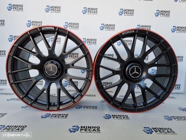 """Jantes Mercedes Novo (C63S) AMG em 19"""" Red Line"""