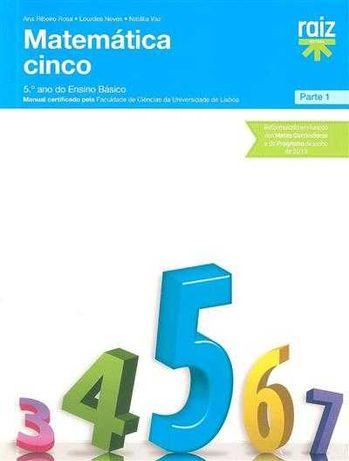Livro Matemática 5 (Matemática 5ºAno Raiz Editora)
