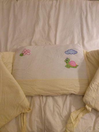ochraniacz do łóżeczka dla niemowląt