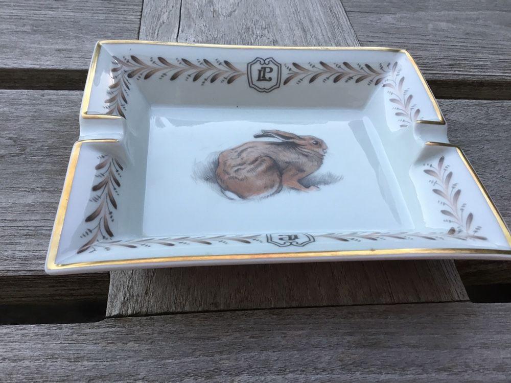 Cendrier Hermès porcelana