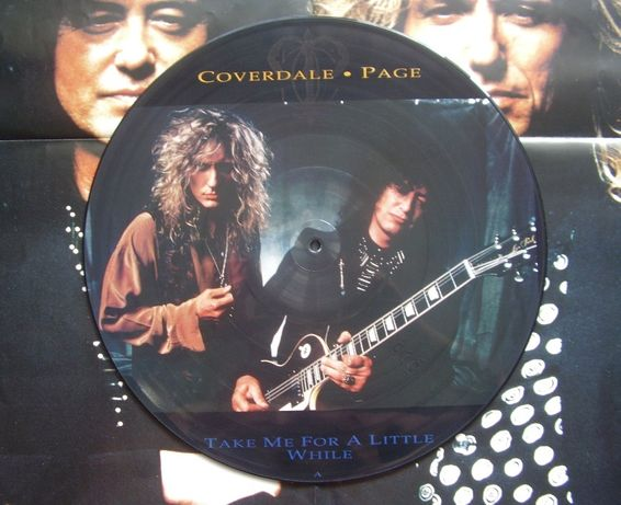 Coverdale- Page ‎– Take Me For A Little While