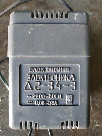 Блок питания Электроника Д2-34-3