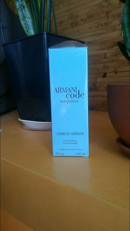 Armani code turquoise муж.