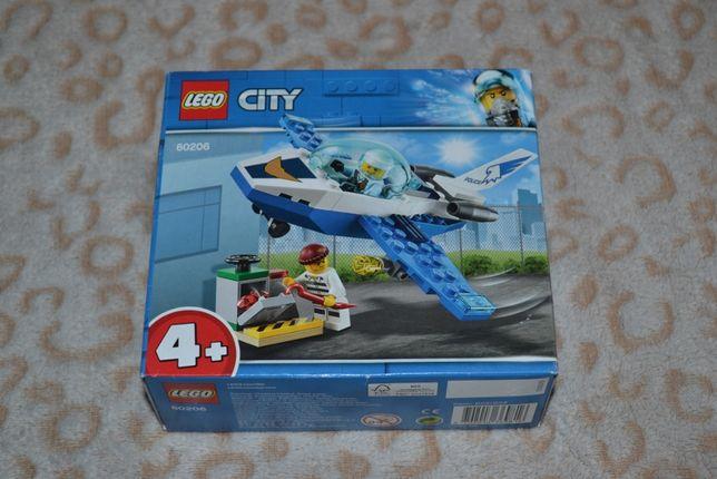 Конструктор LEGO Воздушная полиция: патрульный самолёт 60206 - 850 руб