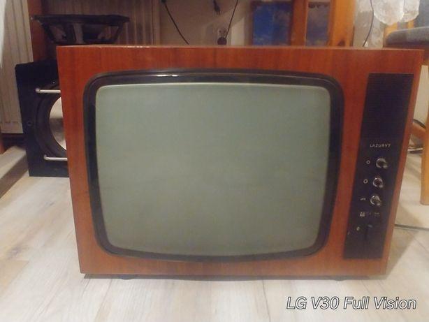 Stary telewizor LAZURYT
