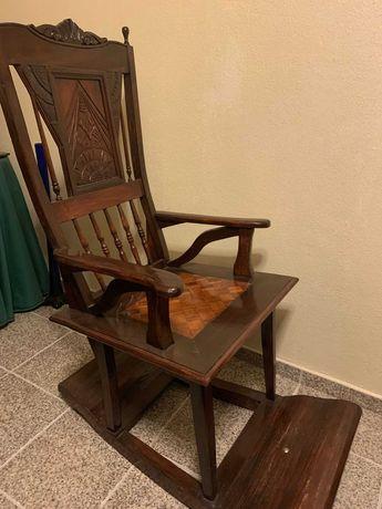 Cadeira Baloiço Rústica